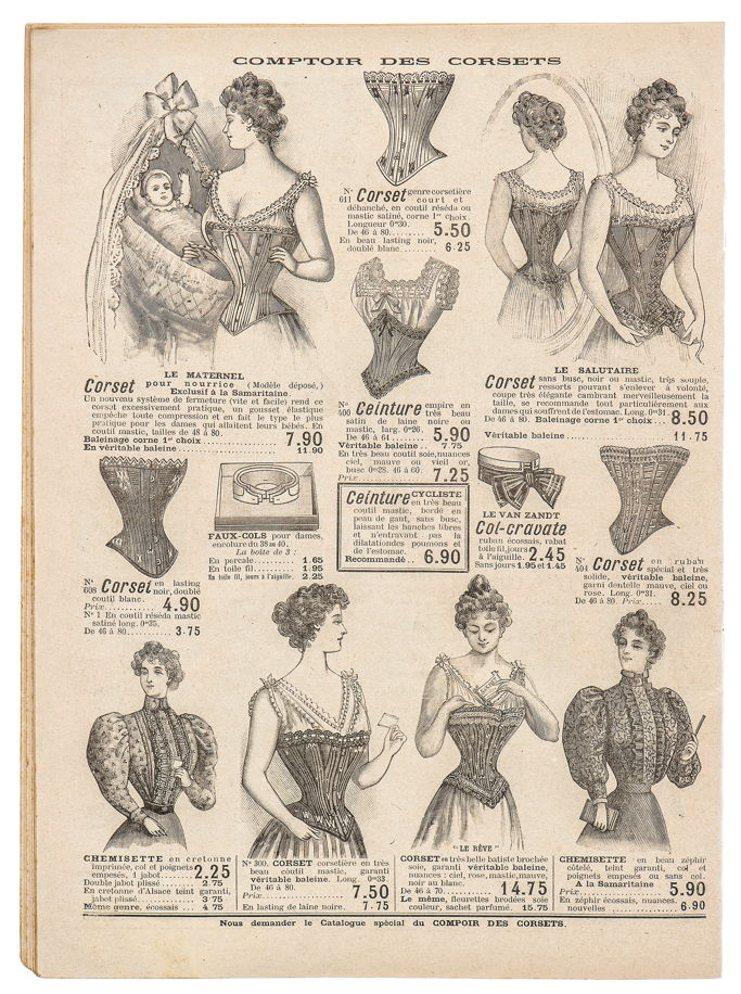 The history of corsets