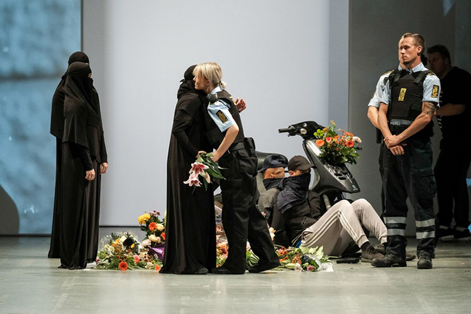 Fashion's Protest on Denmark's Burqa Ban