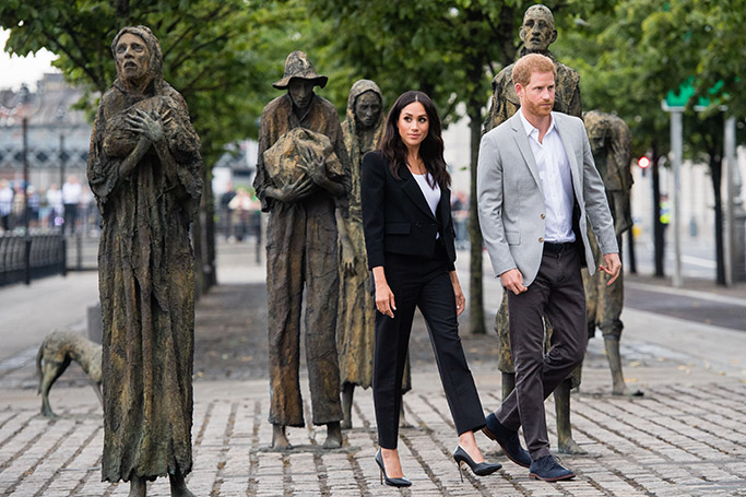 Meghan Markle's Style on Tour: Dublin, Ireland