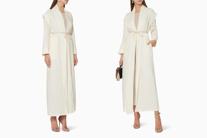 Chi-ka Convertible Linen Abaya