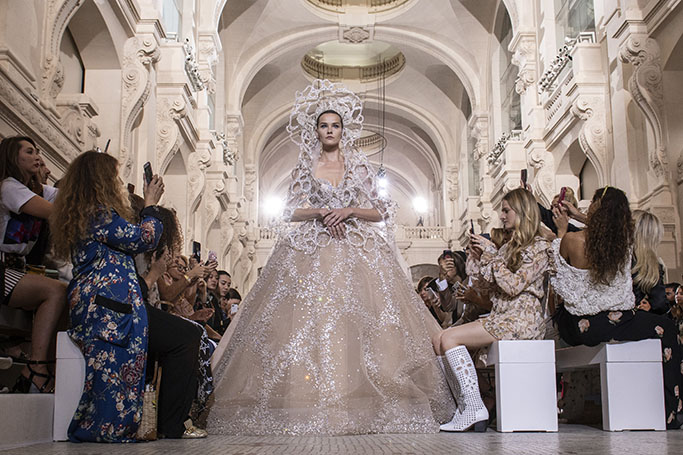 Paris Haute Couture Week: Best Bridal Gowns By Arab Designers | ewmoda