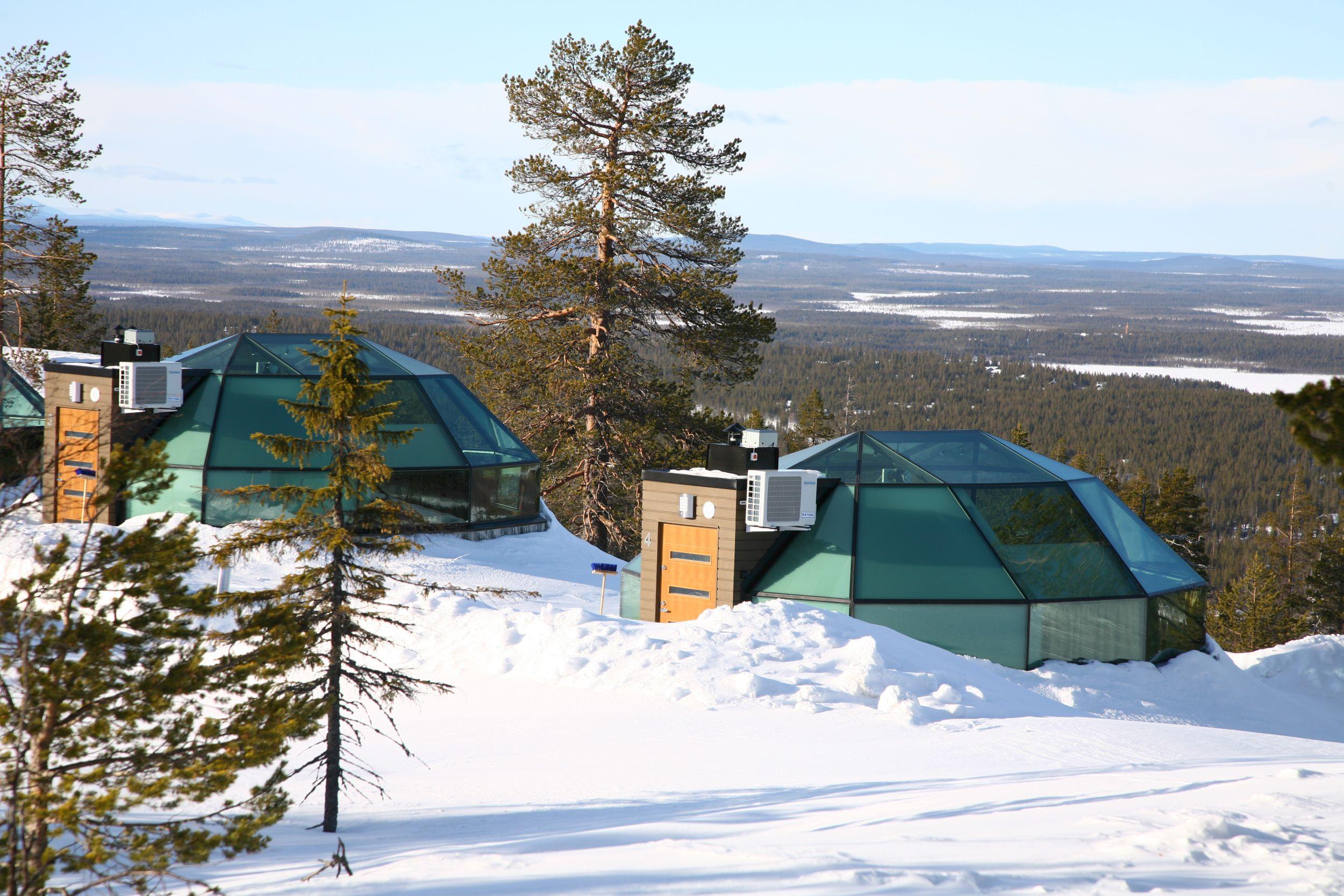 Levin Iglut Igloos, Finland