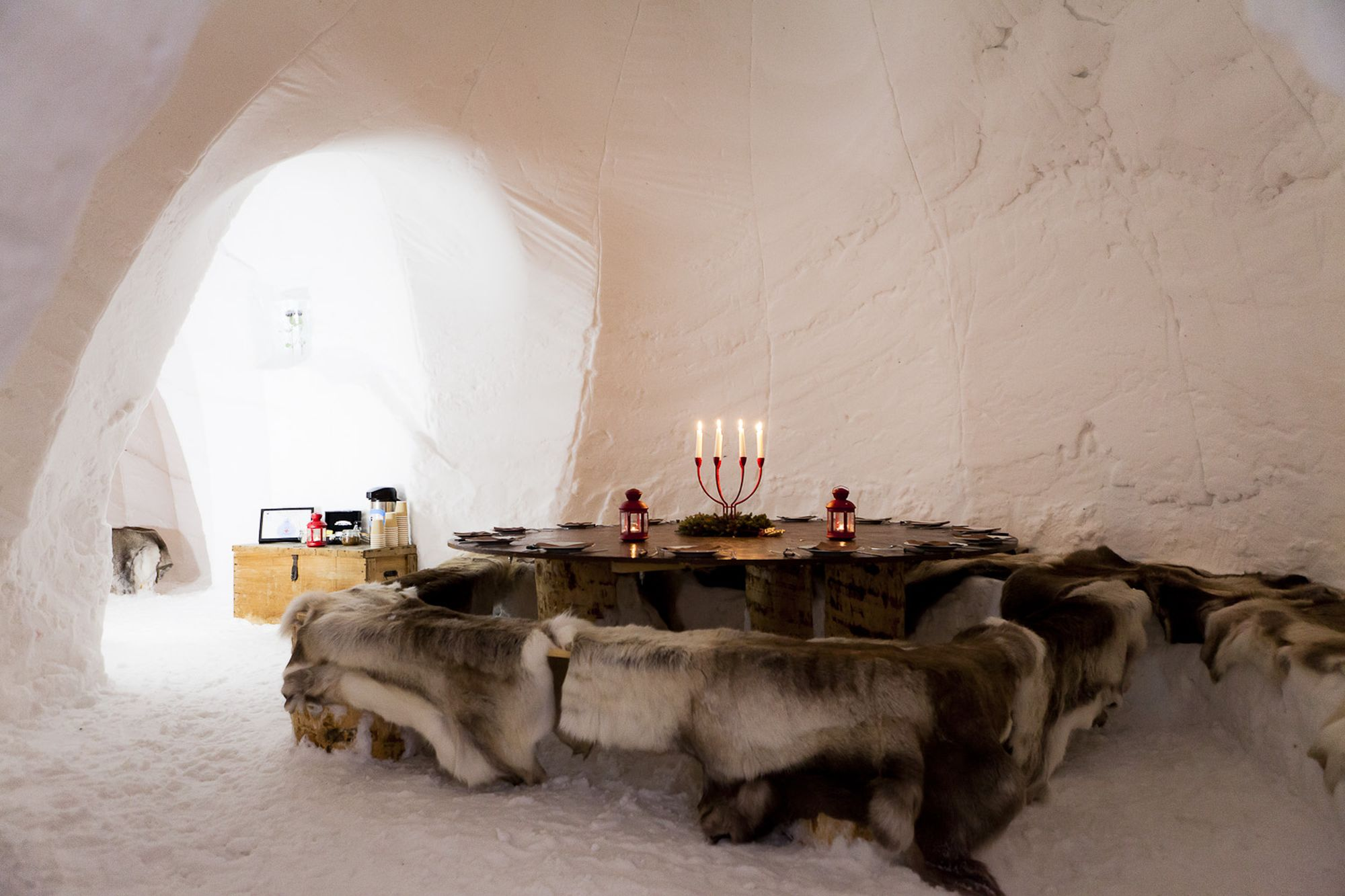 Igloo Village, La Plagne, France