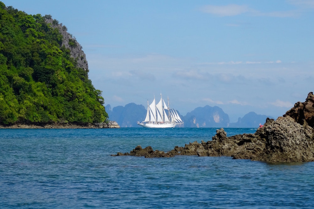 Thailand's Ao Phang Nga National Park