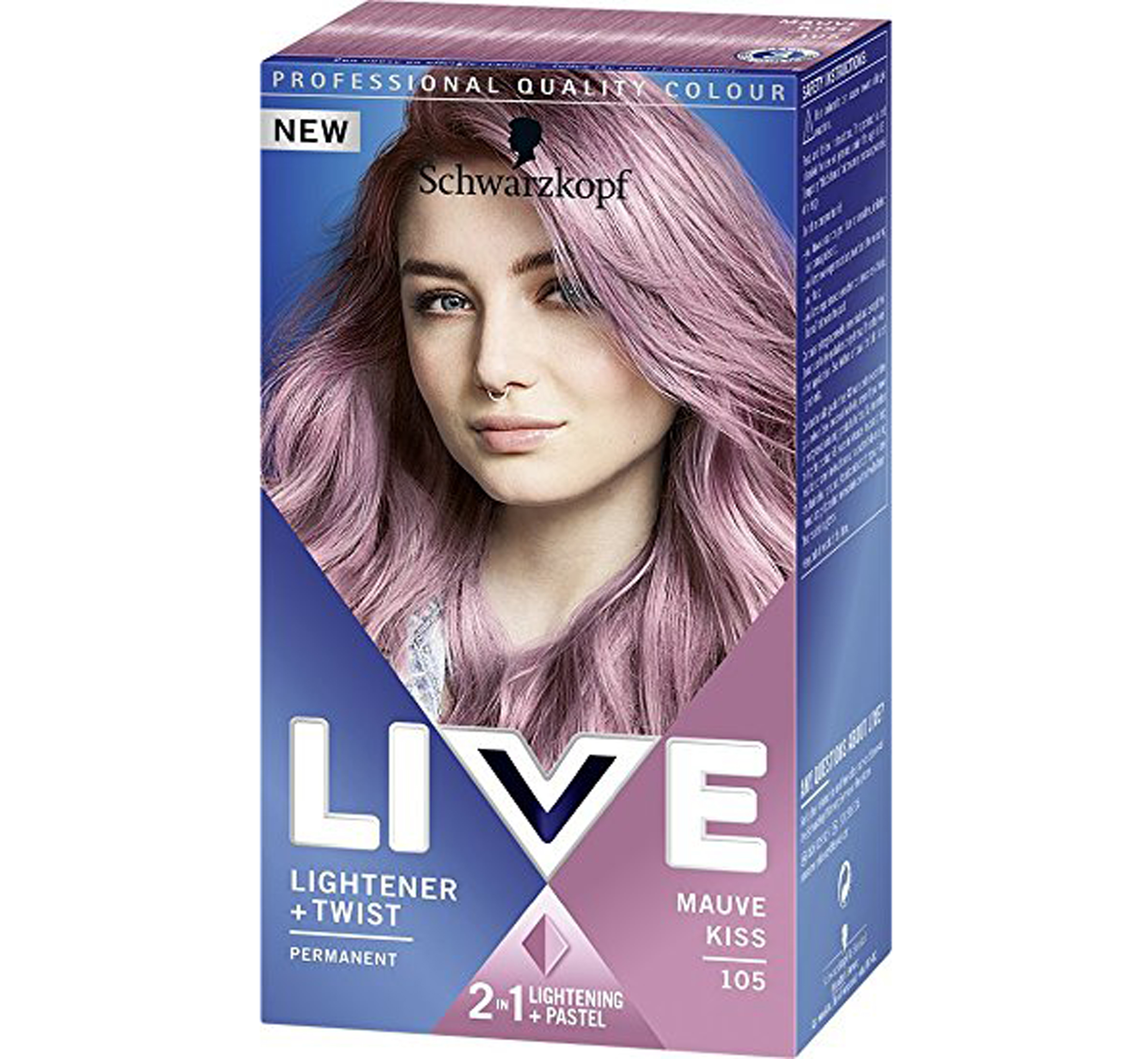 How to achieve lilac hair like Lady Gaga