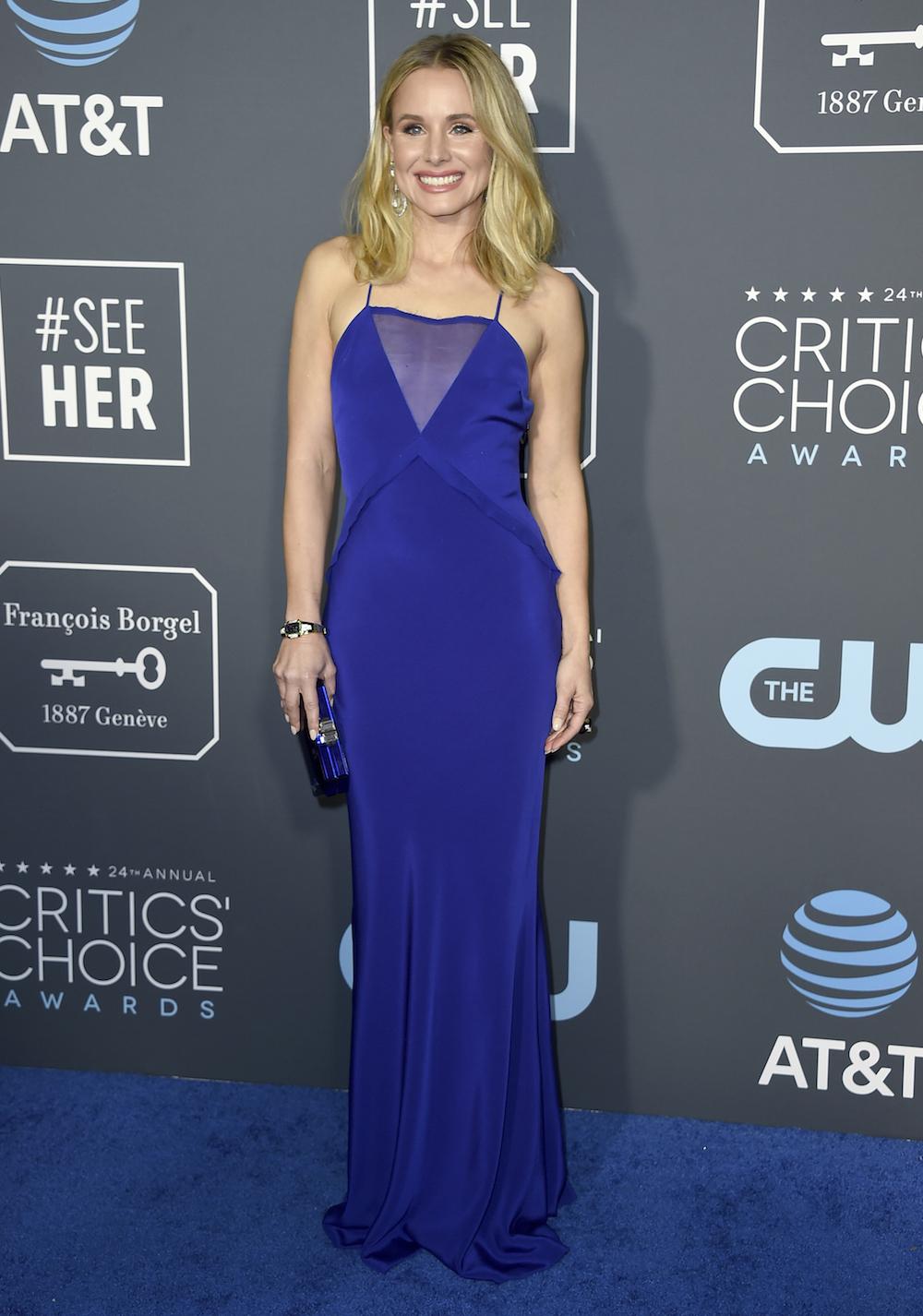 Kristen Bell: Royal blue