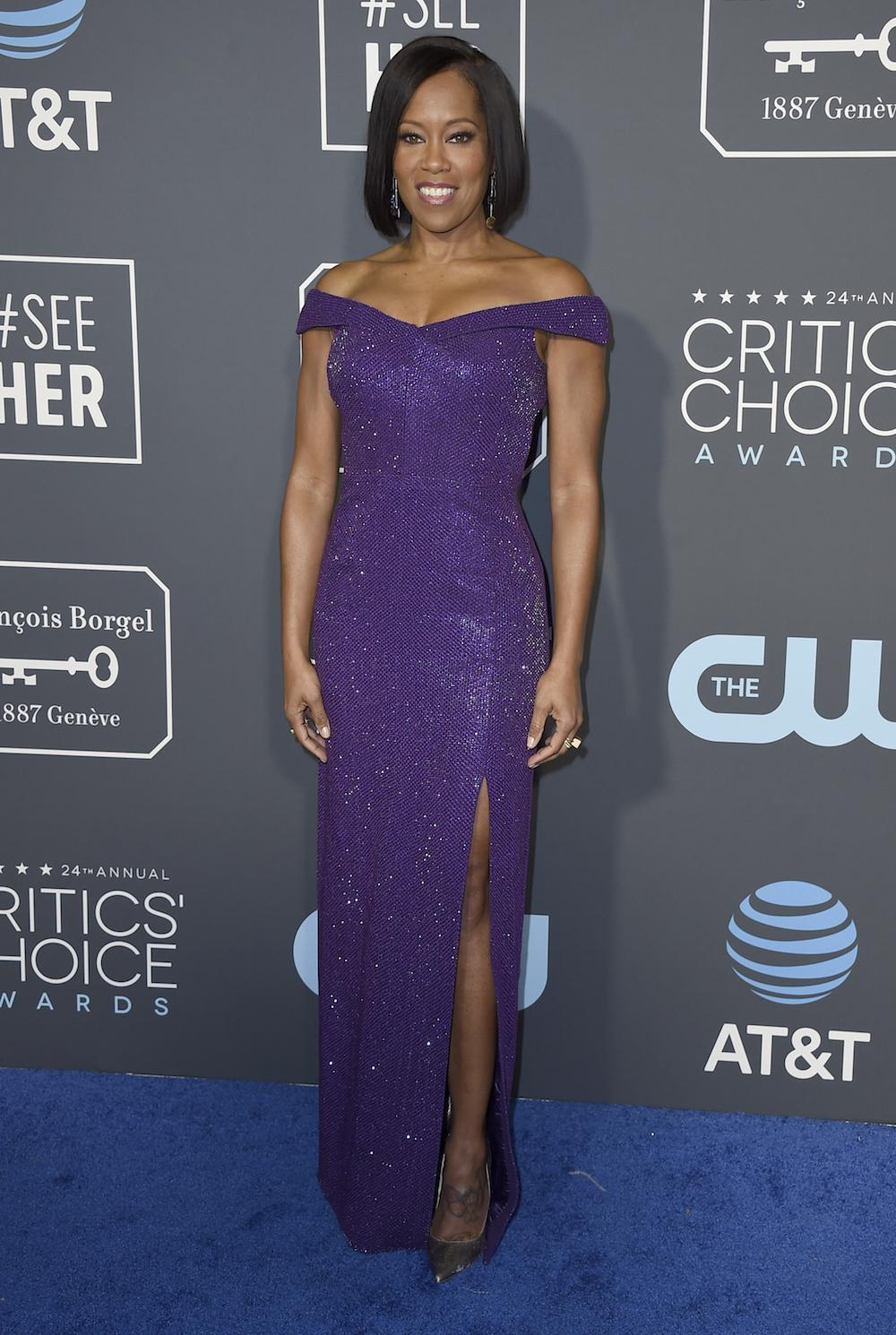 Regina King: Purple