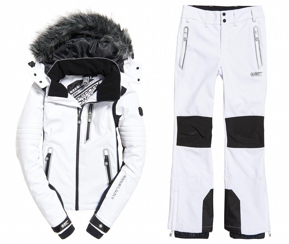 Superdry skiing