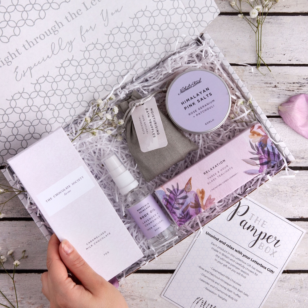 'The Pamper Box' Letterbox Gift Set