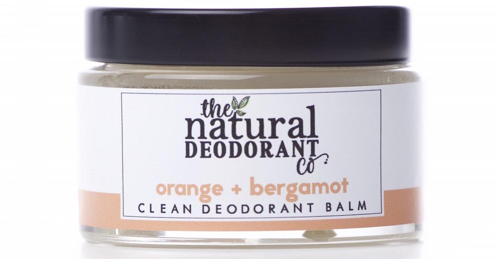 Natural Deo Co Clean Deodorant Balm Orange and Bergamot