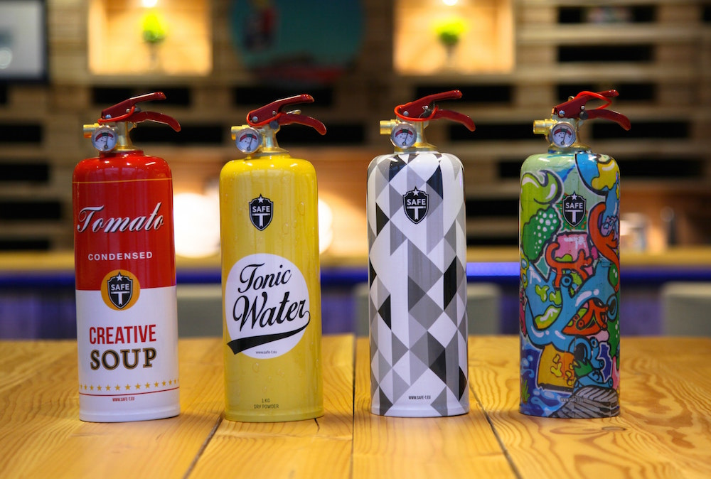 An extinguisher for every occasion