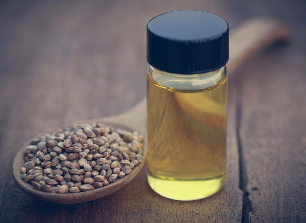 Lighter oils like hemp are suitable for oily skin types