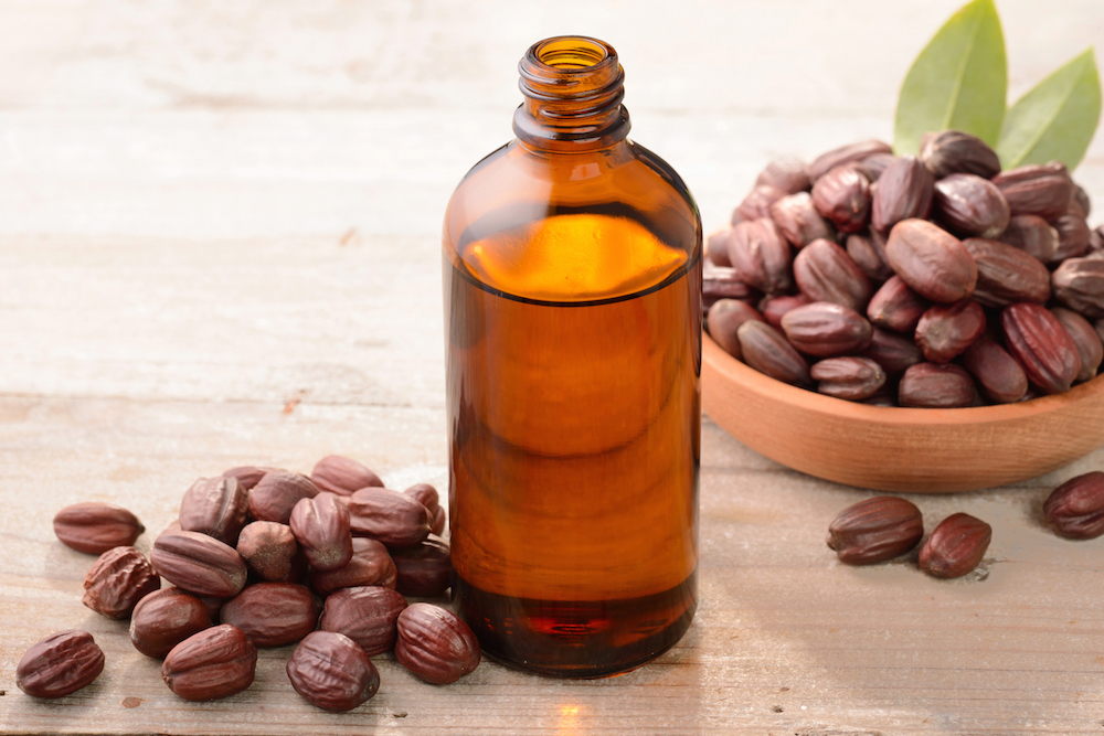 Jojoba oil can be beneficial for acne prone skin