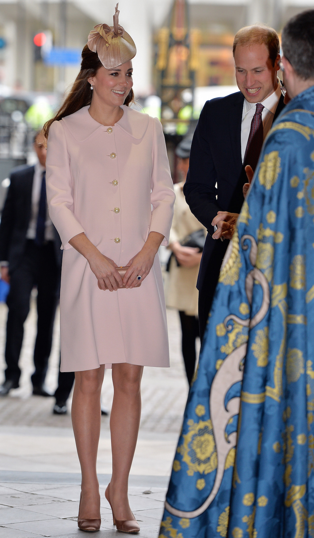 Kate visits Westminster Abbey in March 2015