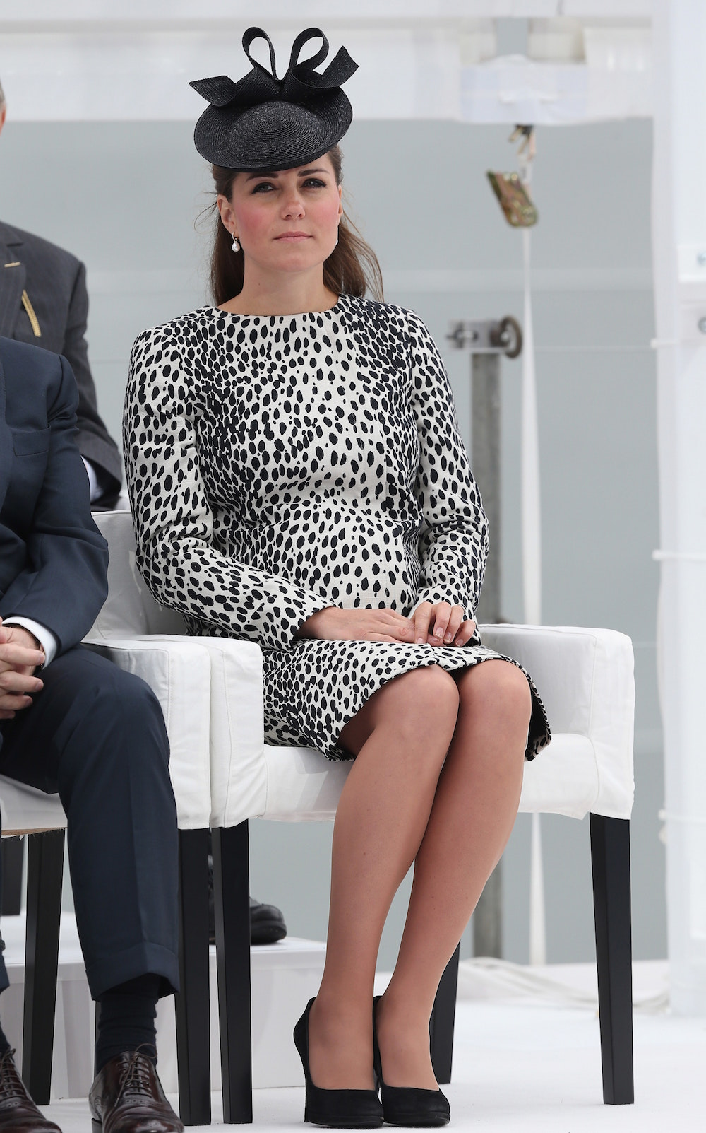 Kate in Southampton in June 2013