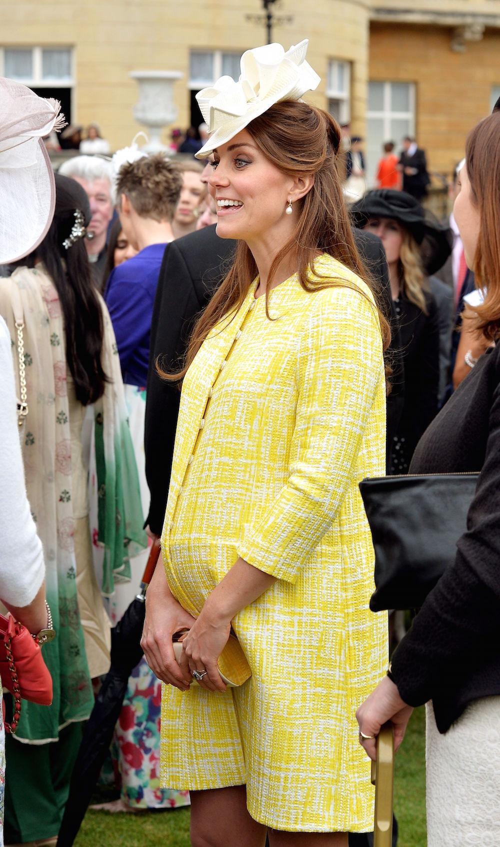 Kate at Buckingham Palace in May 2013