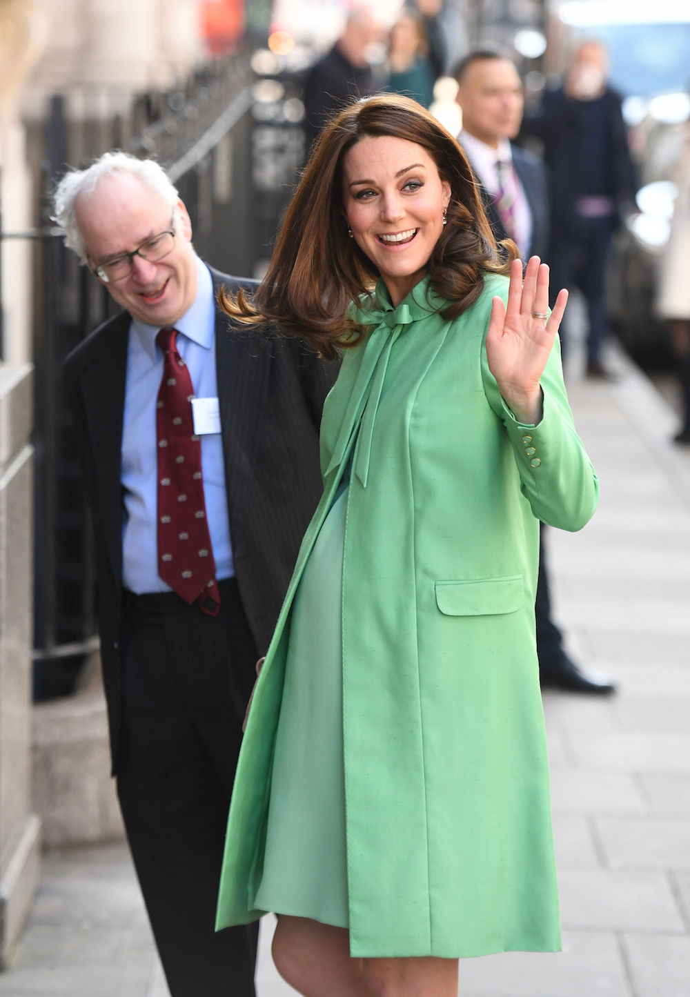 Kate visits the Royal Society of Medicine in London in March 2018