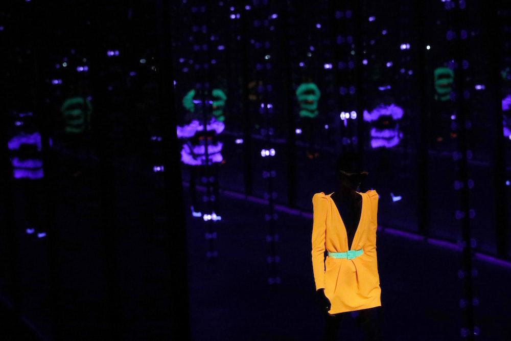 Saint Laurent's Paris Fashion Week Show