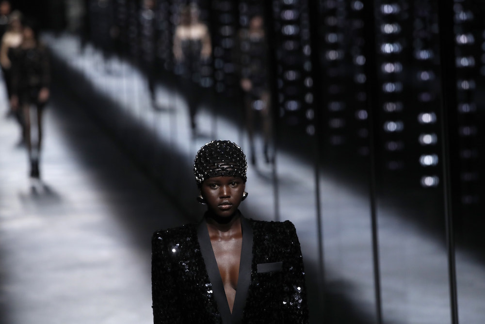 Saint Laurent's Paris Fashion Week Show