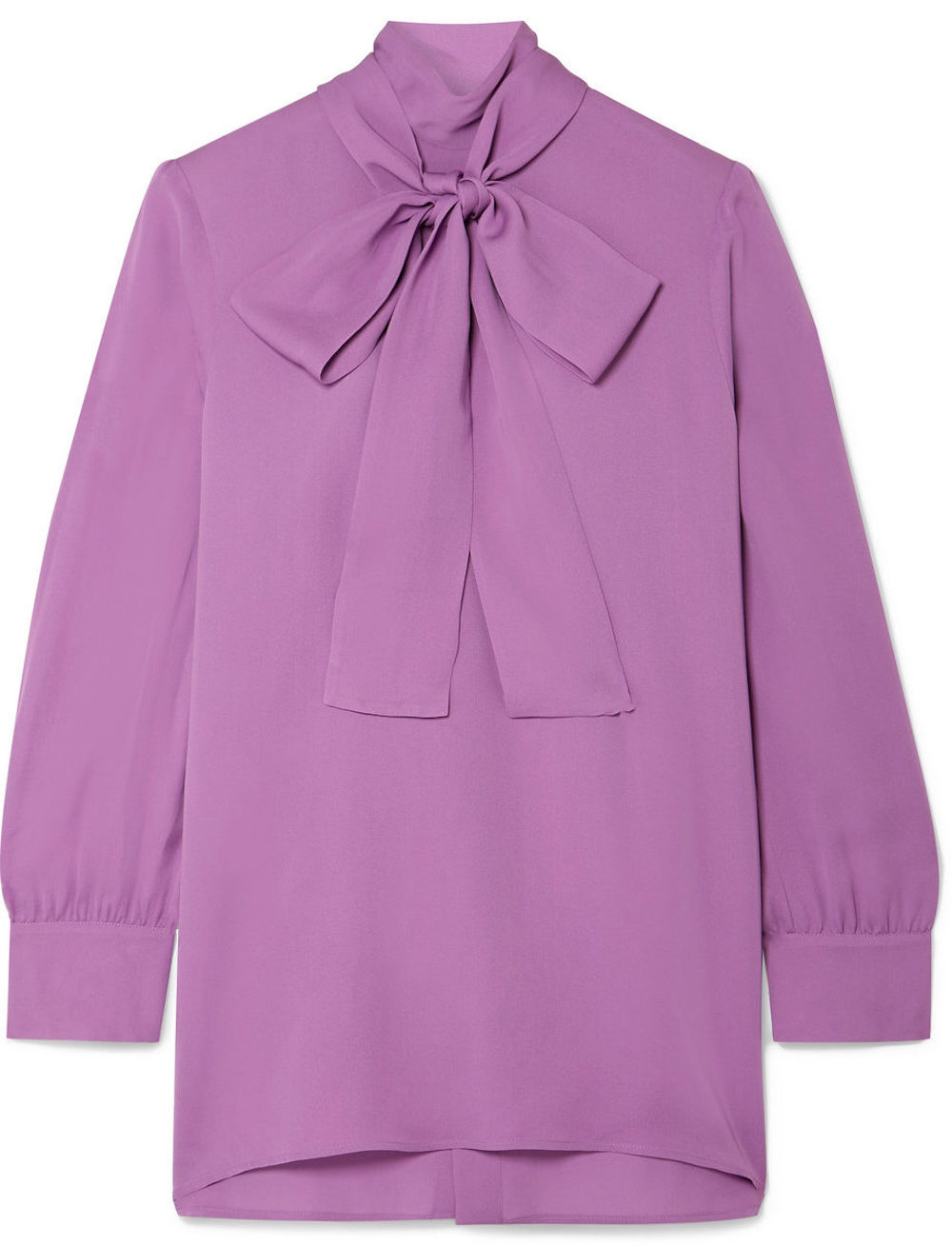 Gucci Pussy-bow Silk-crepe Blouse