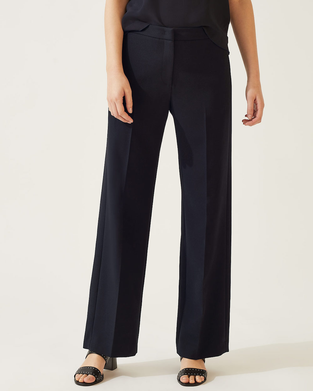 Jigsaw Modern Crepe Straight Trousers
