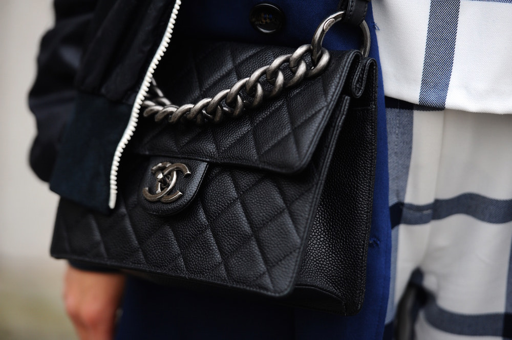 The Chanel quilted 2.55 bag