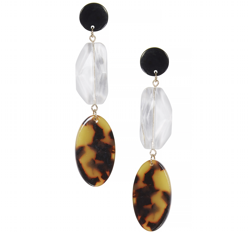 Very Perspex Drop Earrings