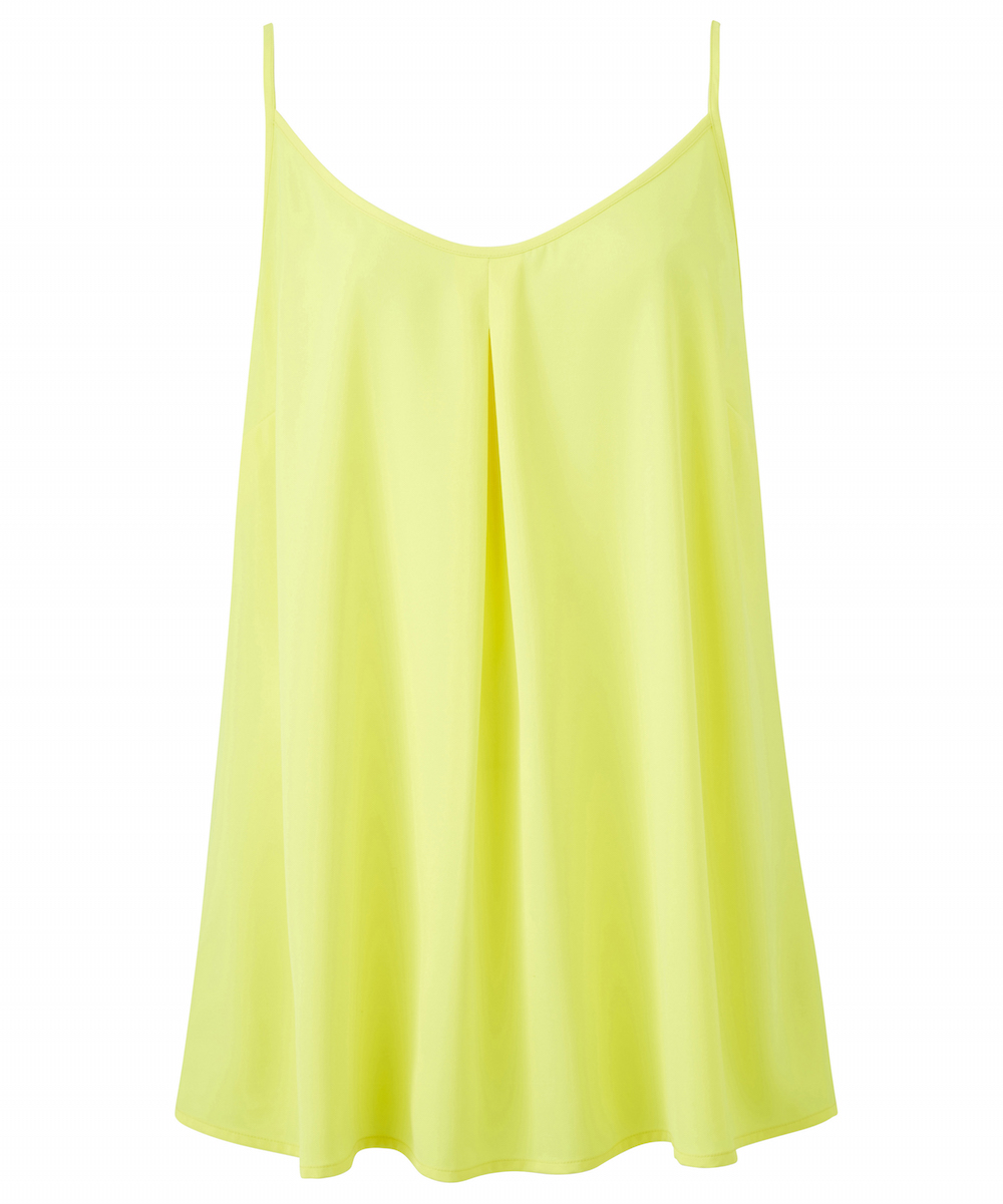 JD Williams Neon Yellow Strappy Cami Top