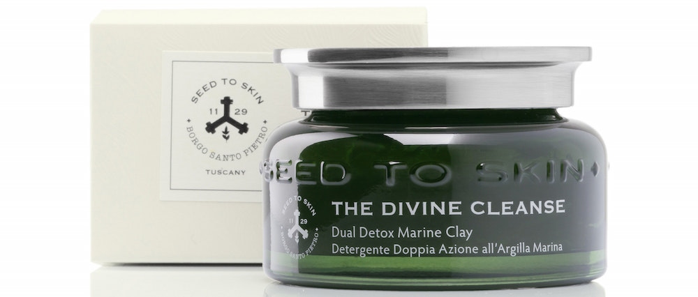 Seed To Skin The Divine Cleanse Dual Detox Marine Clay Cleansing Gel