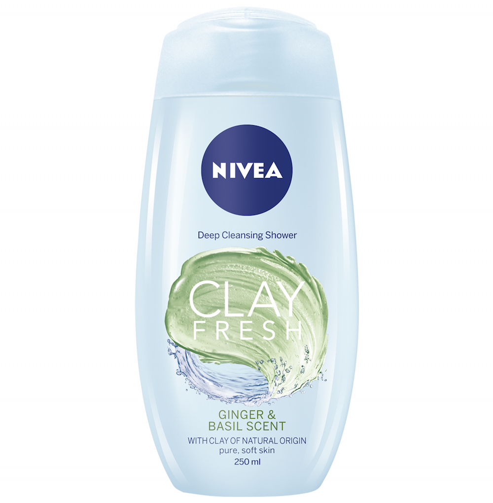Nivea Shower Clay with Ginger & Basil