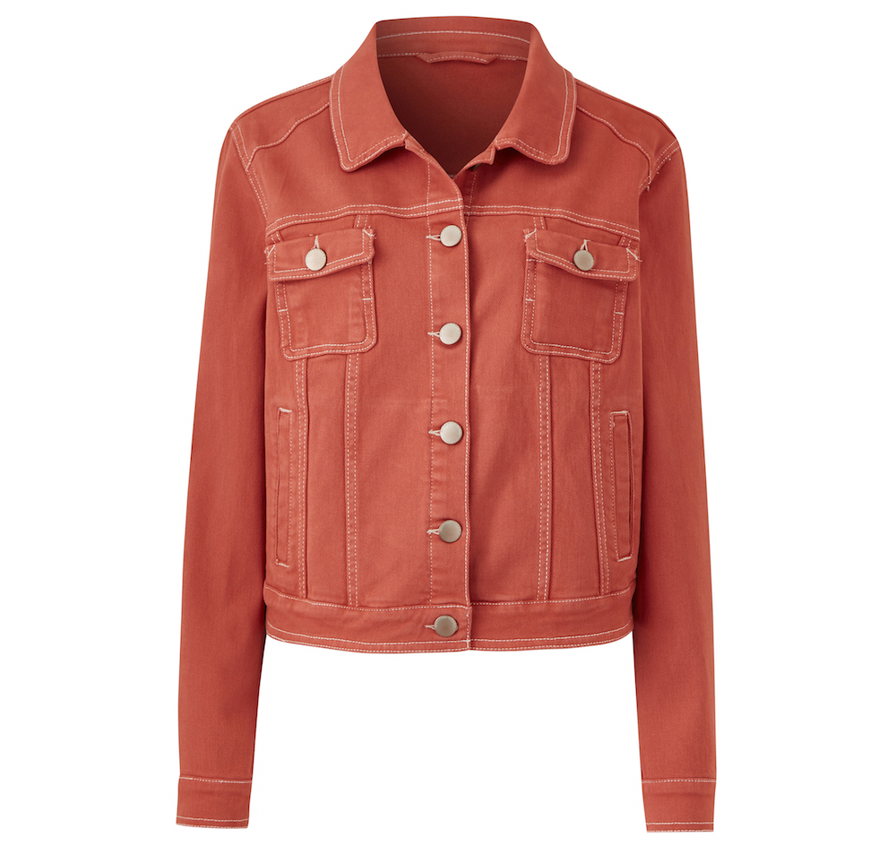 JD Williams Terracotta Western Style Denim Jacket