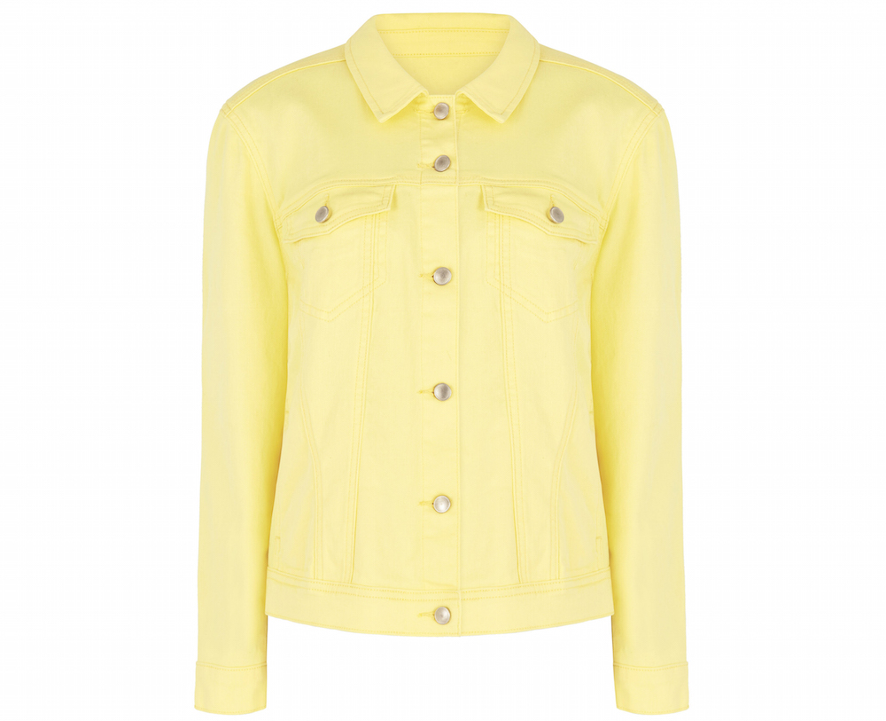Bonmarche Yellow Denim Jacket