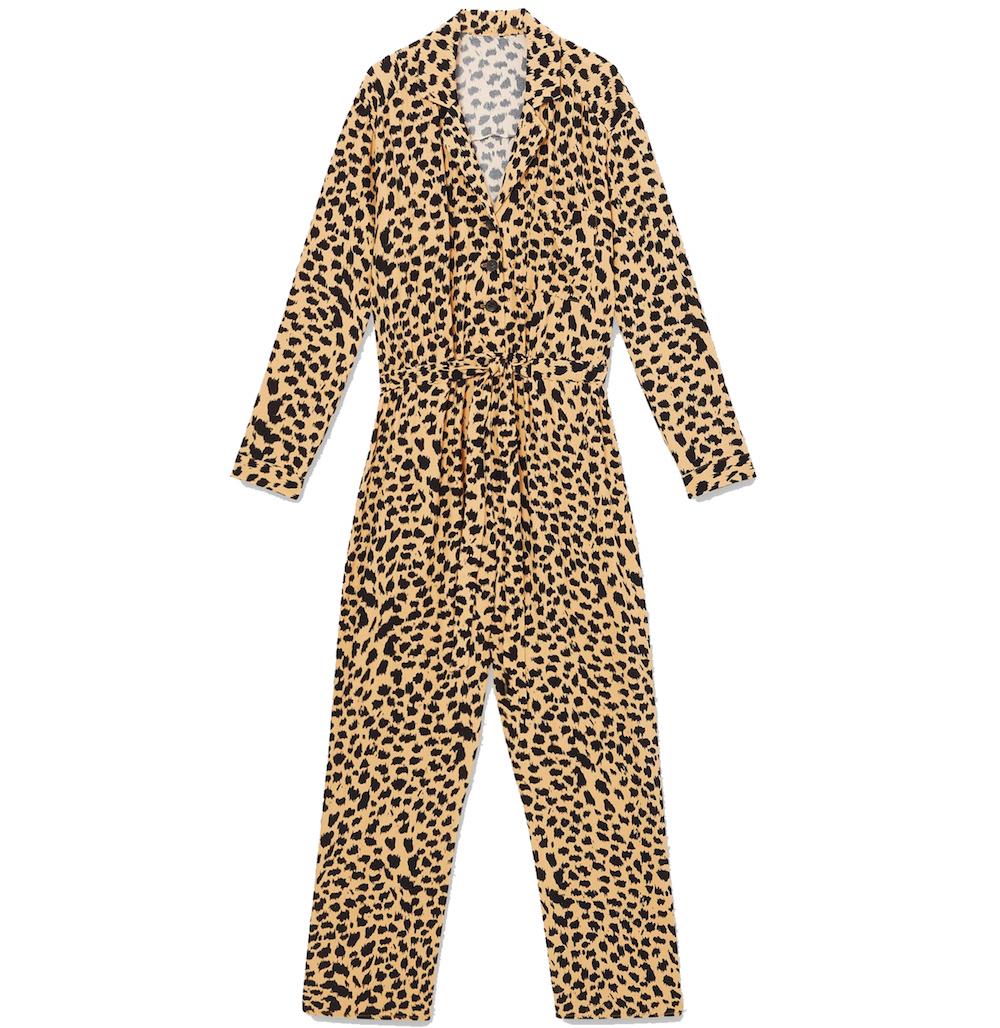 Miss Selfridge Multi Colour Cheetah Boiler Suit