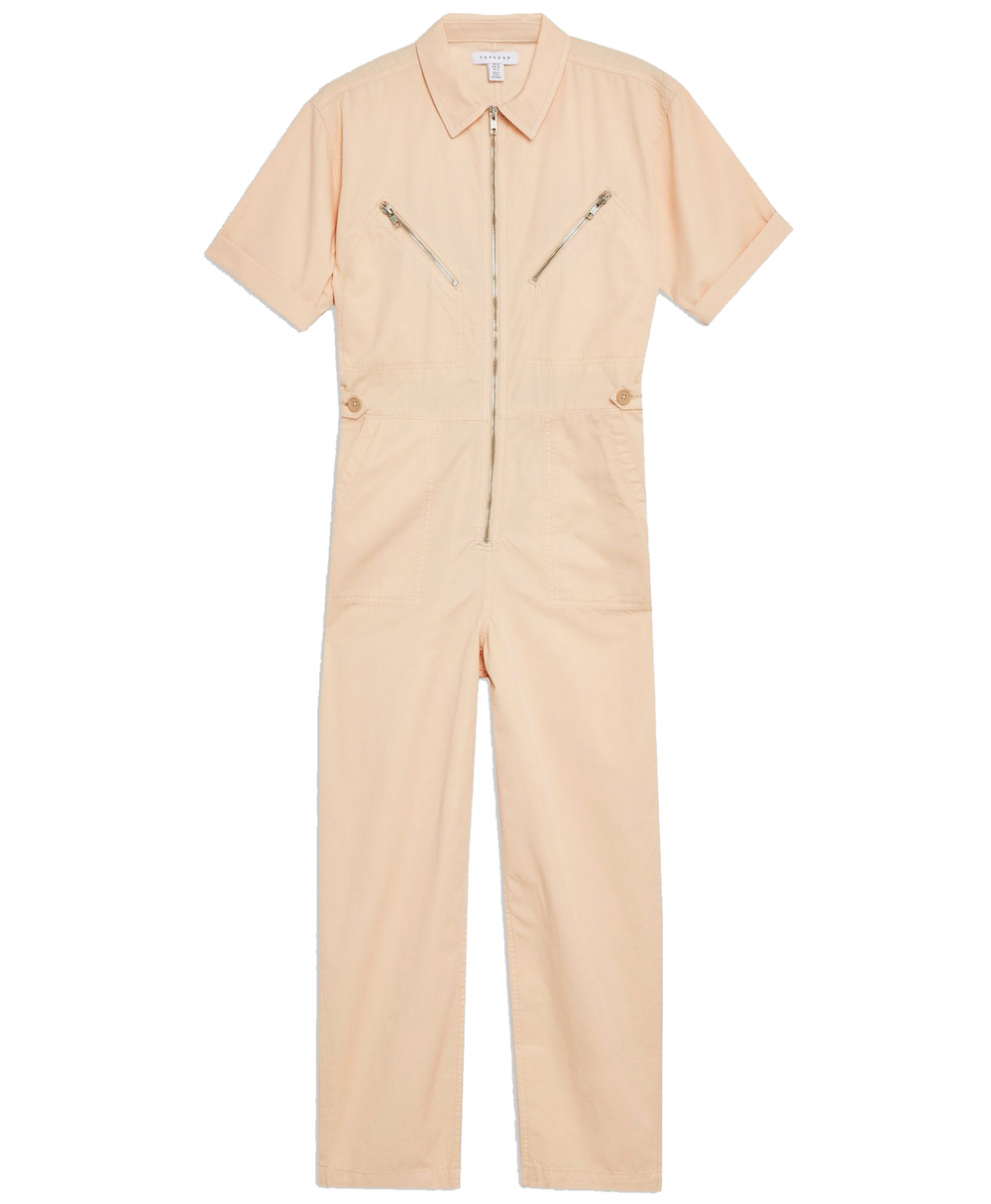 Topshop Short Sleeved Utility Boiler Suit