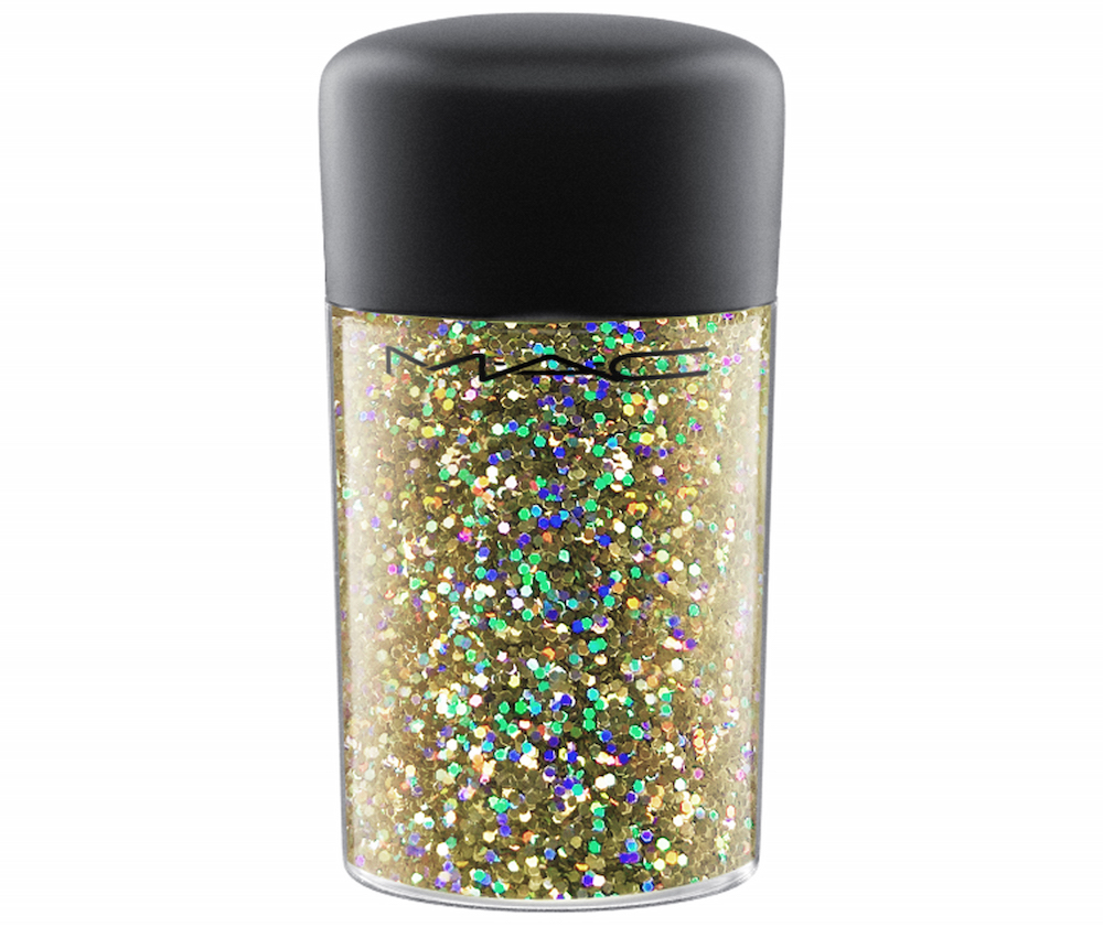 MAC Glitter in Gold Hologram