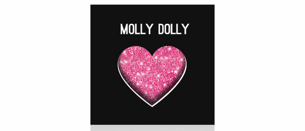 Beauty Blvd Glitter Love in Molly Dolly