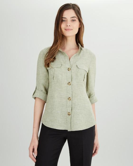 Jaeger linen shirt