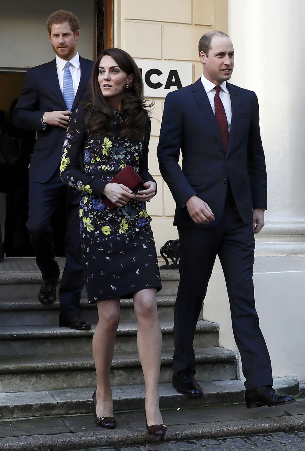 The Duchess of Cambridge wearing Erdem in 2017