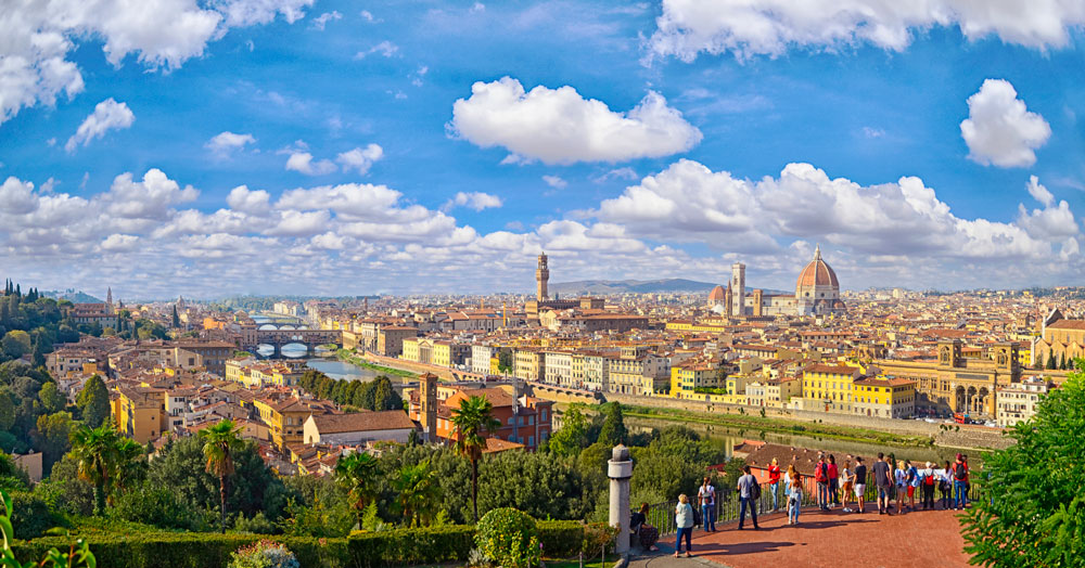 Florence – rise above the crowds