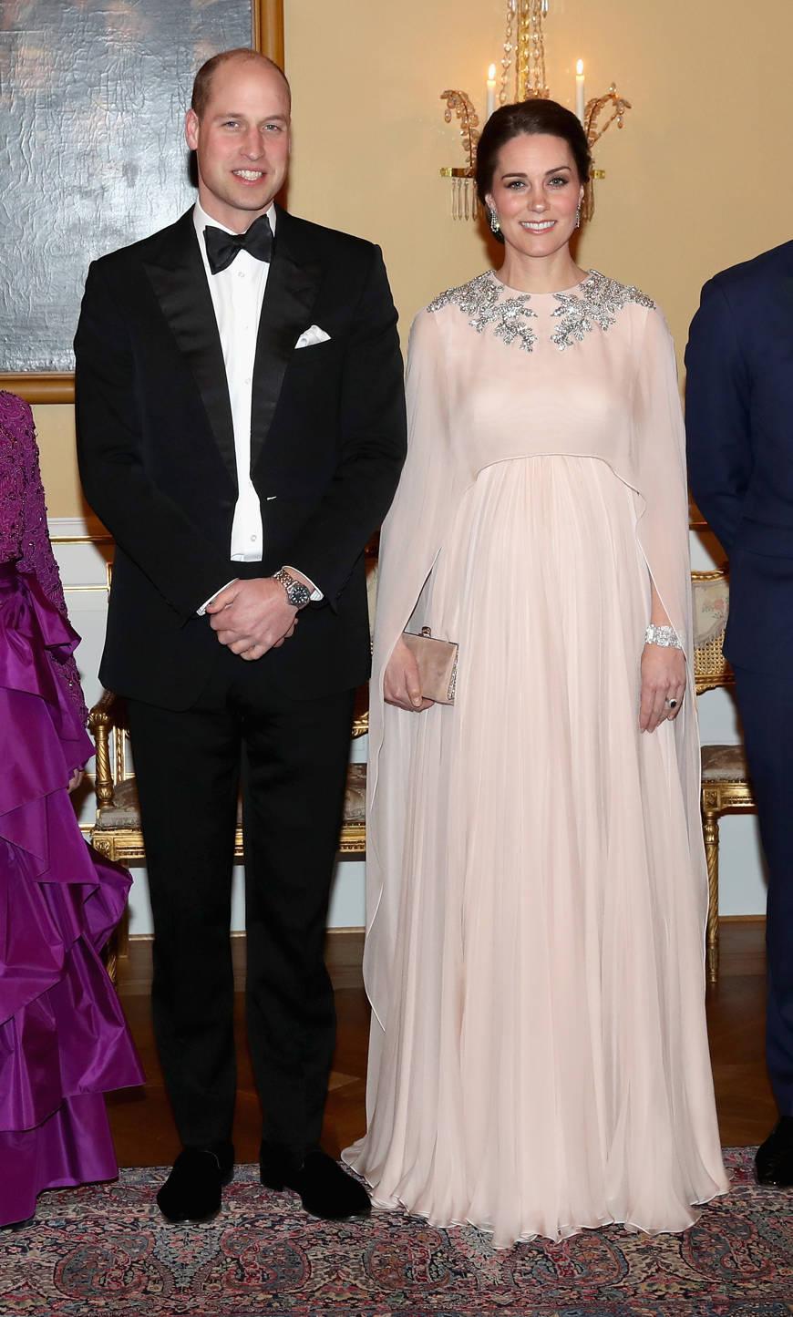 Duchess of Cambridge in Alexander McQueen