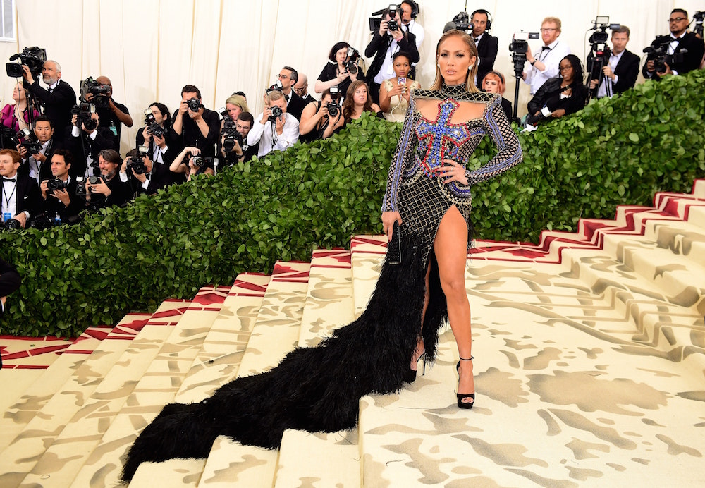 Jennifer Lopez at the 2018 Met Gala