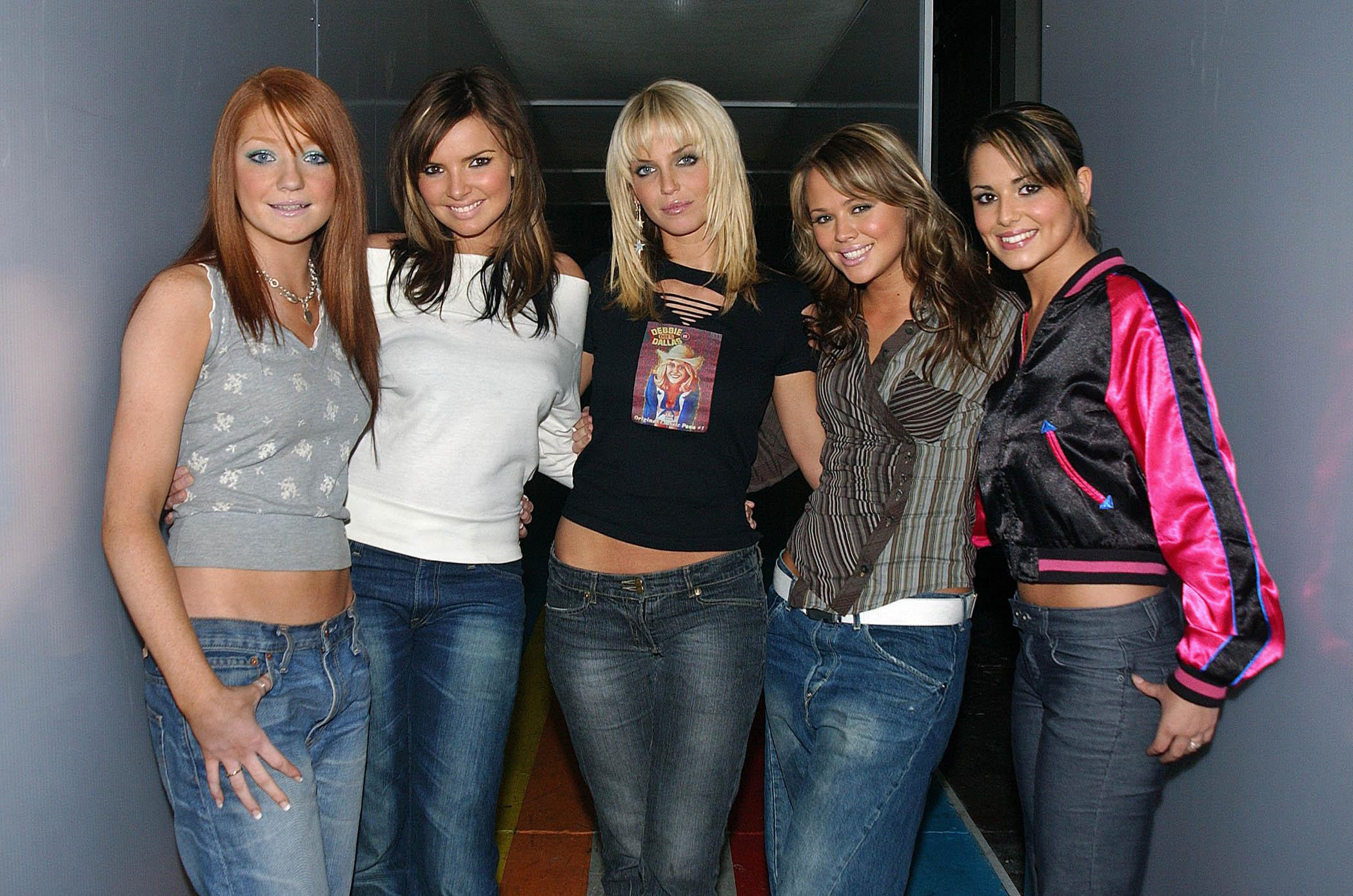 Girls Aloud in their Noughties heyday