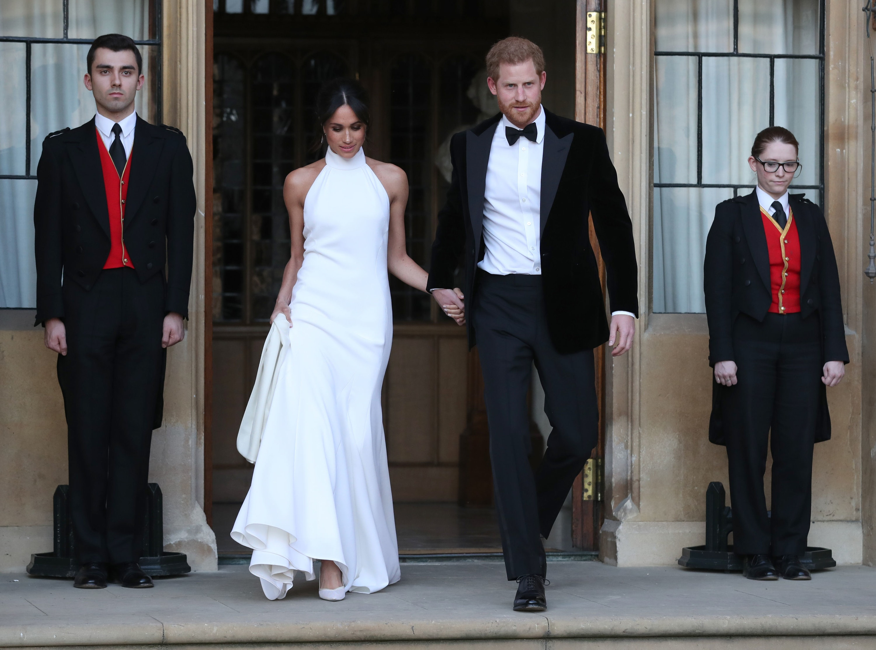 Megan and Harry's Wedding Day