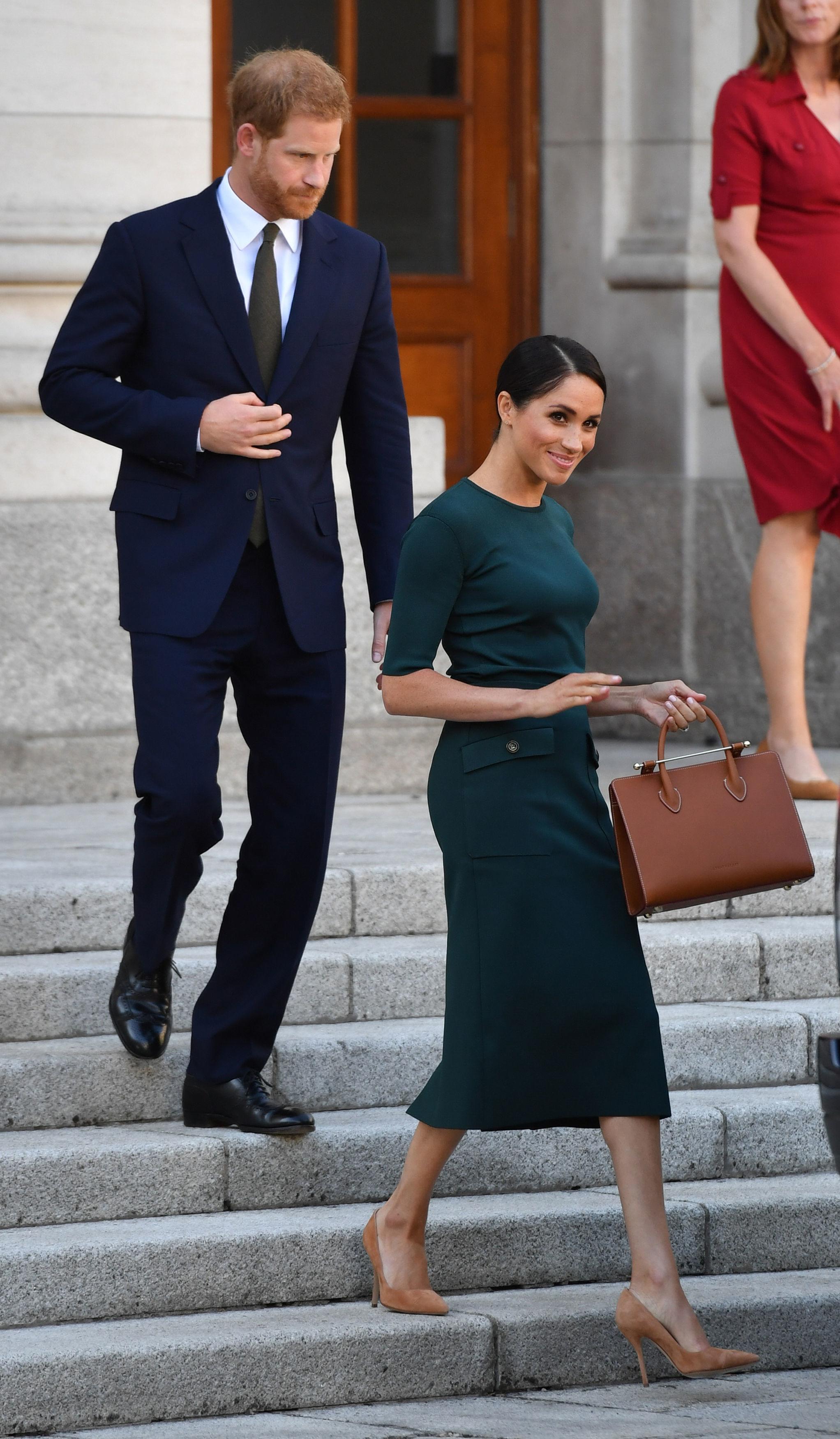 Megan's royal visit to Dublin