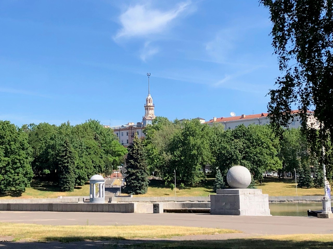 Minsk boasts a large number of attractive parks
