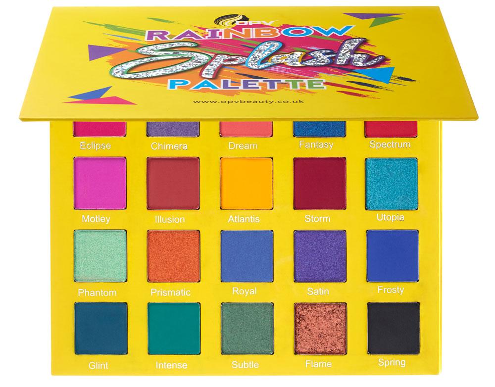 OPV Beauty Rainbow Splash Palette, £29/AED129.68
