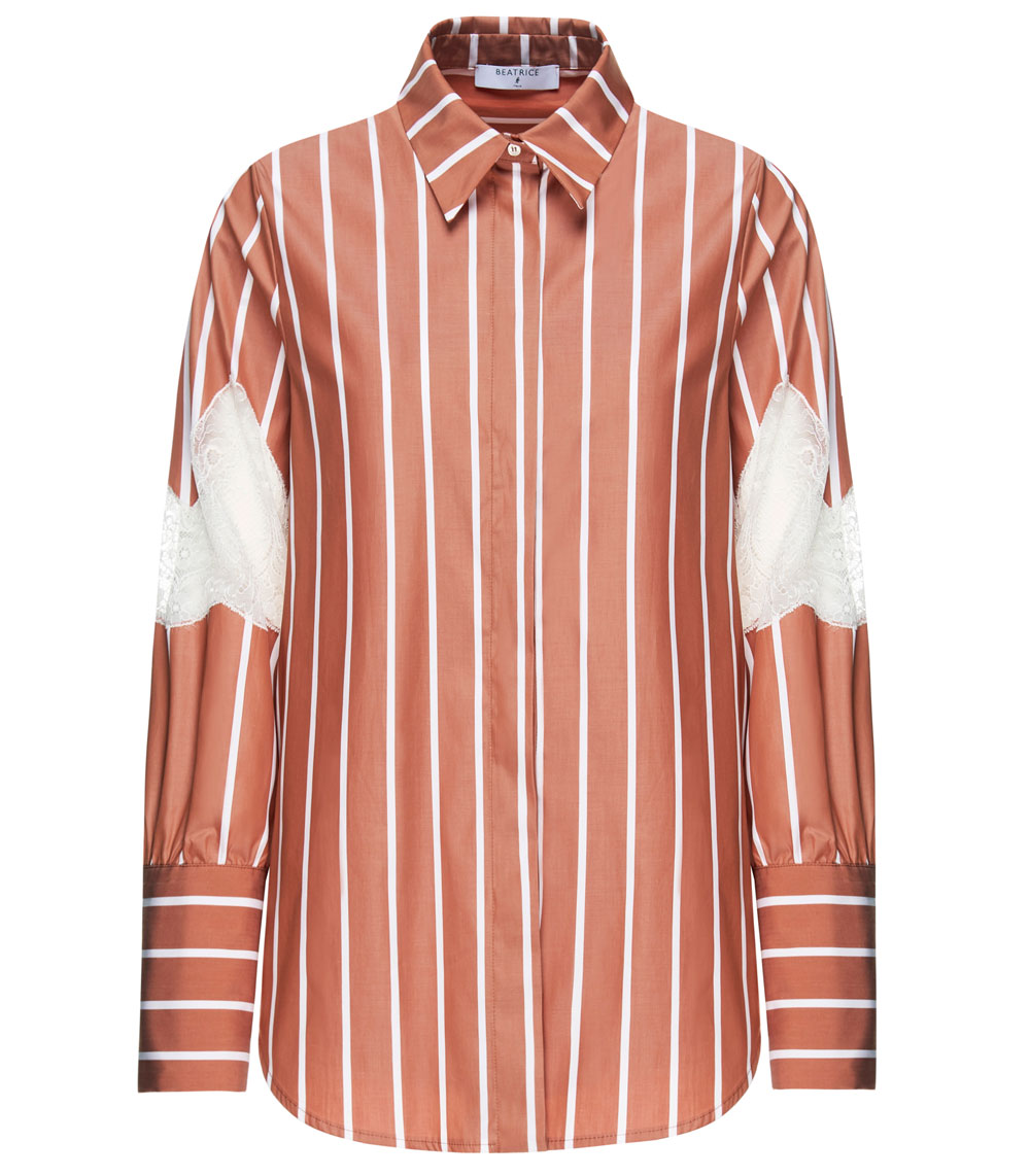 Beatrice B Shirt, £264/AED1,183.10 (available later in August)