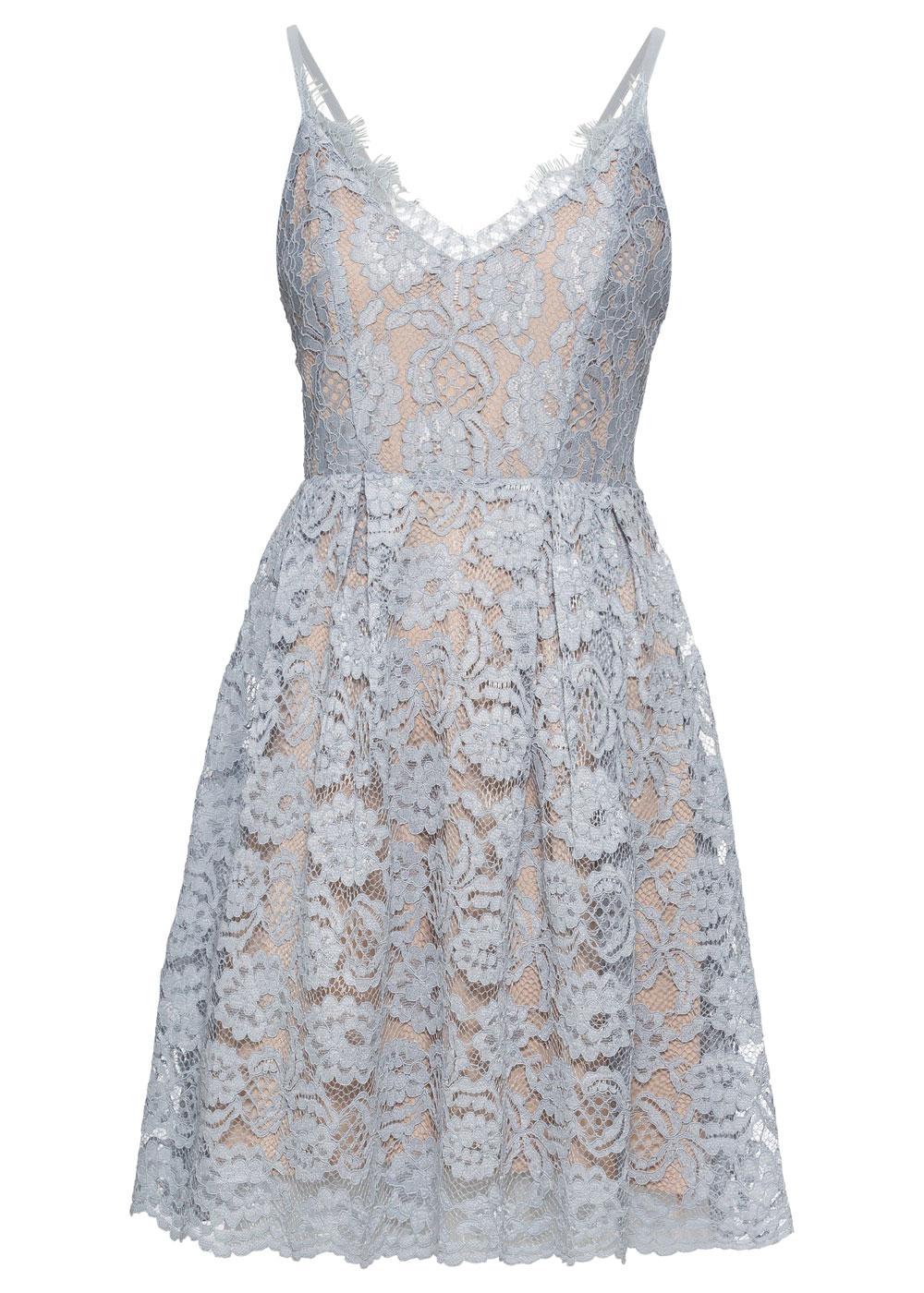 Bonprix Pale Blue Lace Shell Dress, £36.99/AED165.77