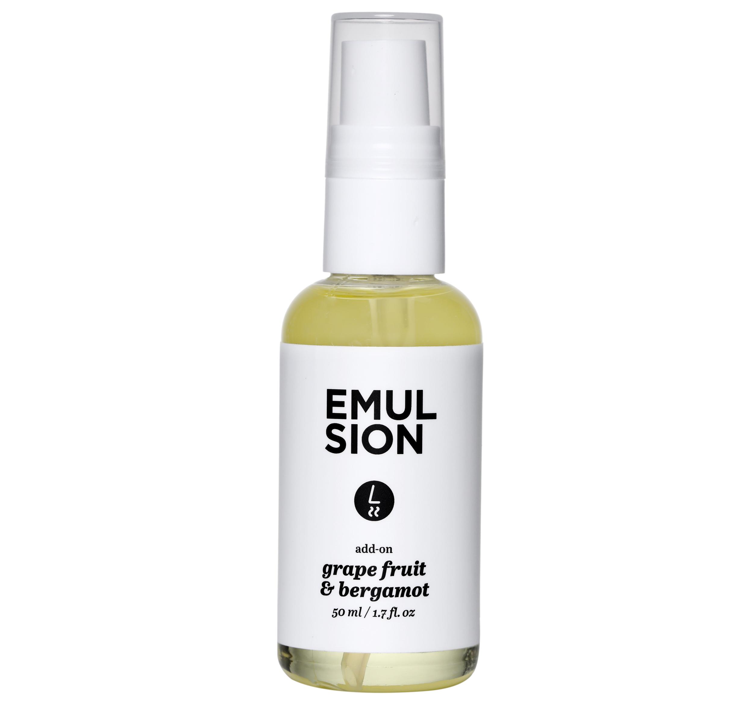 Emulsion Grapefuit and Bergamot Fragrance, £16/AED71.20