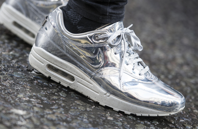 metallic trainers